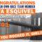 Congrats to Eva Esquivel!