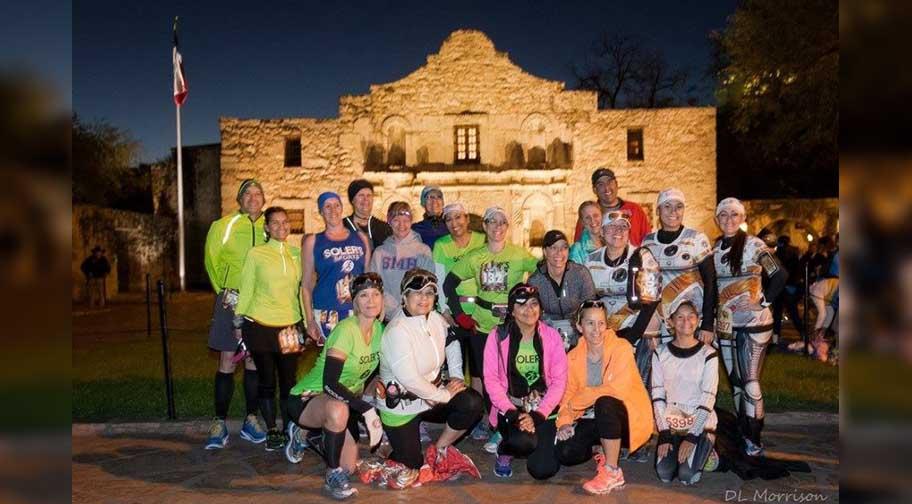 Group pic with Alamo